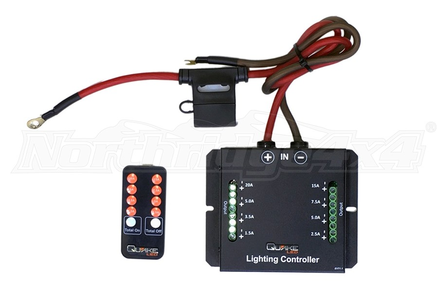 Quake LED Universal 60A 8 LED Light Controller