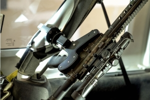 Blac-Rac 1070 Series Locked Weapon Retention System-Mount w/ 18in T-Rail