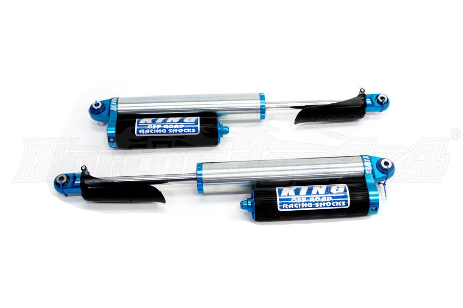 King Shocks 2.5 Performance Series Rear Shocks w/Piggyback Reservoir 0-2.5 Lift - JL