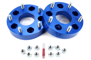Spidertrax Wheel Adapter Kit 5x5in to 5x5.5in Blue ( Part Number: WHS012)