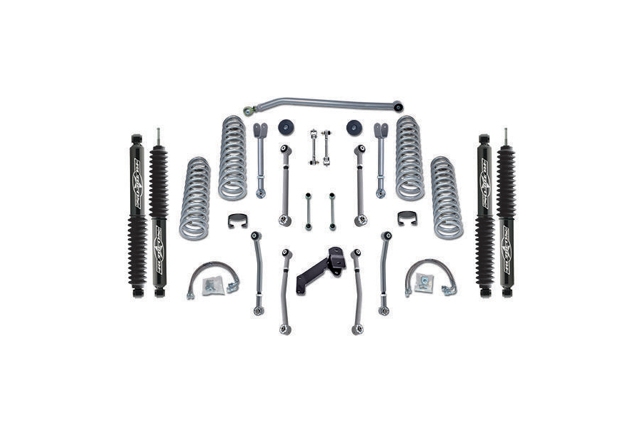 Rubicon Express Super Flex Lift Kit 3.5in w/Twin Tube Shocks (Part Number:RE7127T)