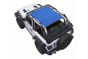 Spiderwebshade JL2D ShadeTop Blue - JL 2dr