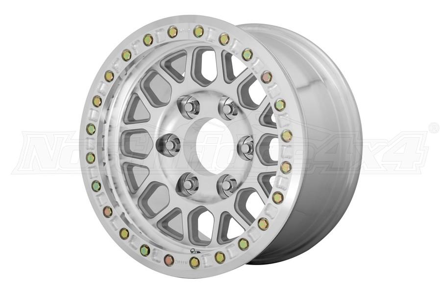KMC Wheels KM234 Grenade Desert Series Beadlock Wheel, 17x8.5 8x6.5 - Machined
