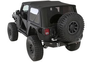 Smittybilt Premium Replacement Soft Top w/Tinted Windows Black Diamond (Part Number: )