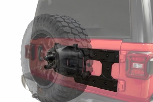 King 4WD Baumer Heavy Duty Tire Carrier - JL