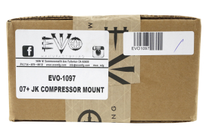 EVO Manufacturing Air Compressor Mount Kit (Part Number: )