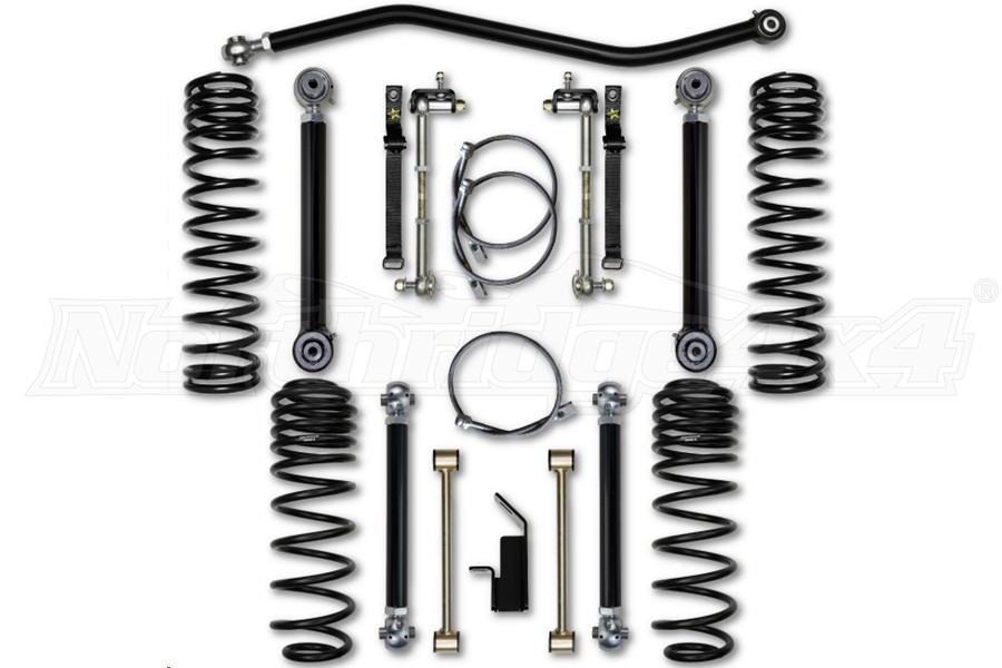 Rock Krawler 3.5in Max Travel System Lift Kit (Part Number:TJ35MT)