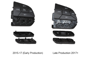 Z Automotive Steering Wheel Aux Buttons - JK 2015-17 (Early production)