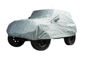 Smittybilt Full Climate Car Cover 2 Door Gray ( Part Number: 830)