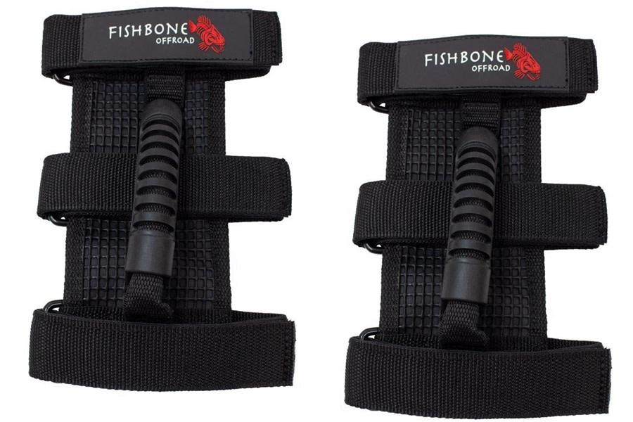 Fishbone Offroad Grab Handles w/ Three Straps