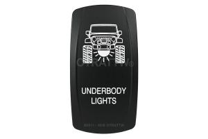 sPOD Underbody Lights Rocker Switch Cover