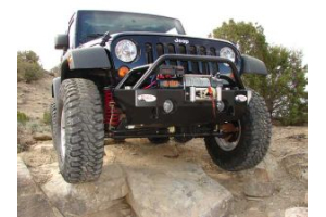 M.O.R.E. Rock Proof Front Bumper w/Tube Work (Part Number: )
