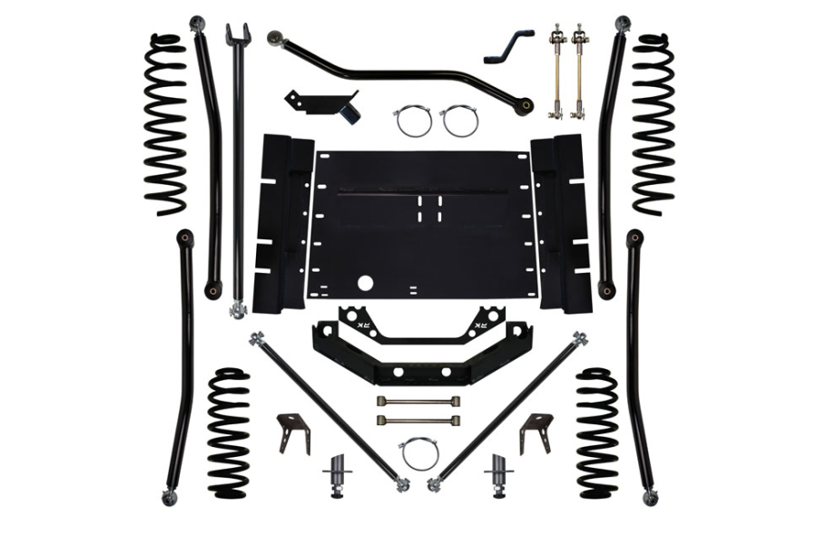 Rock Krawler 3.5in X-Factor Plus Stretch System Lift Kit  (Part Number:LJ35XFLA-4S)