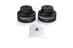 Teraflex 1.5in Rear Upper Bump Stop Strike Pad Extension Kit   - JT
