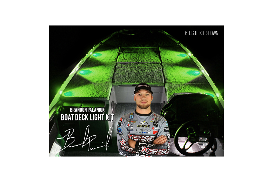 Rigid Industries Brandon Palaniuk A-Series Deck Light Kit Green (Part Number:400793)