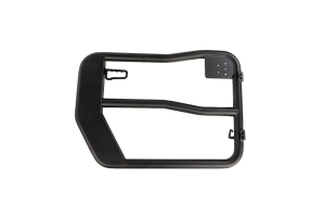 Rugged Ridge Front Fortis Tube Doors, Black  - JK