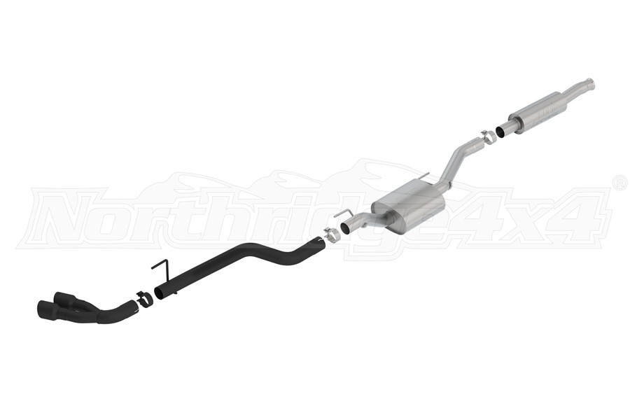 Borla Performance 2.75in S-Type Cat-Back Exhaust System w/ Dual Black Tips - JT 3.6L