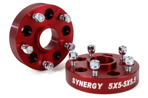 Synergy Manufacturing Wheel Adapter Kit 5x5 to 5x5.5 ( Part Number: 4112-5-50-55-H)