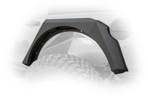 DV8 Offroad Armor Style Fenders w/vents & turn signals, Set of 4 (Part Number: )