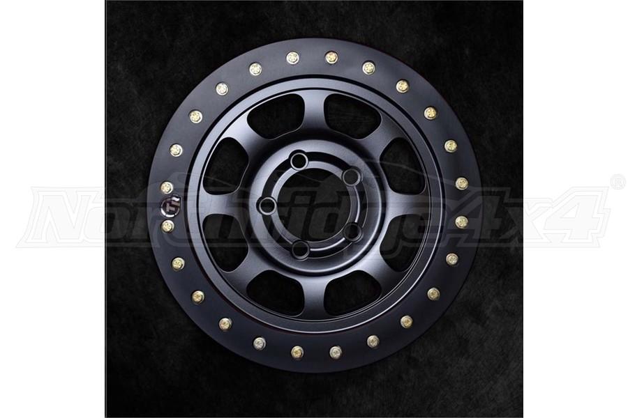 Trail Ready Slim Ring Black Beadlock Wheel, 17x8.5 5x5  - JT/JL/JK