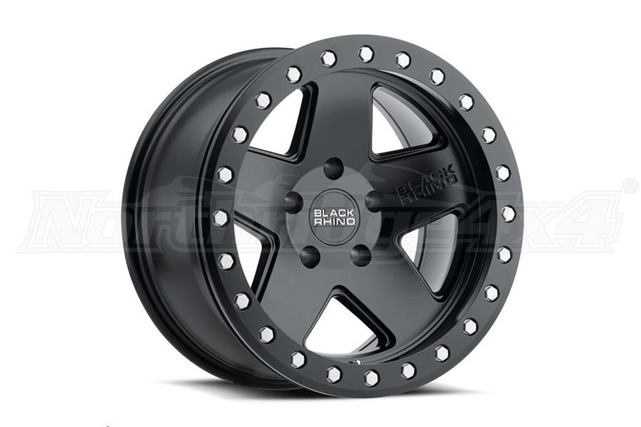 Black Rhino Crawler Beadlock Wheel 17x8.5 5x5 Matte Black (Part Number:1785CRL-25127M71)