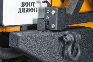 Body Armor Rear bumper W/adjustable pin, Tire Carrier Sold Seperate (Part Number: )