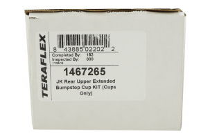 Teraflex Upper Extended Bumpstop Cup KIT (Cups Only) (Part Number: 1467265)