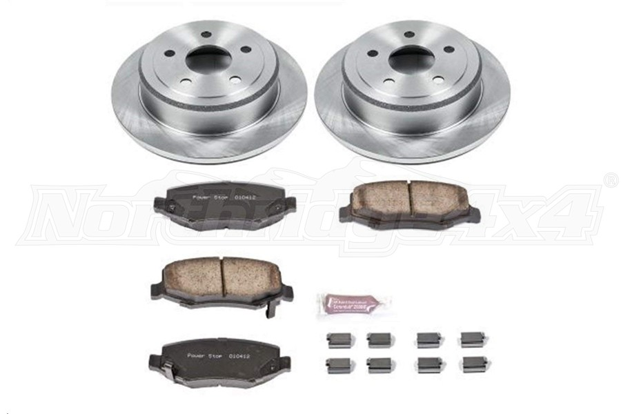 Power Stop Autospecialty OE Replacement Brake Kit, Rear (Part Number:KOE3090)