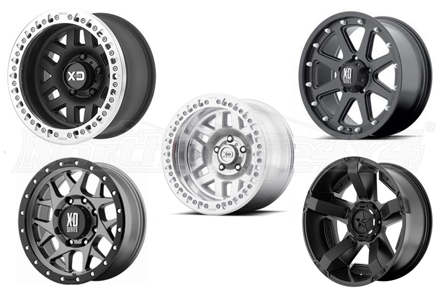 XD Series Wheel Package - JL/JK
