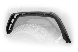 DV8 Offroad Flat Slim Fenders - Front and Rear - JT