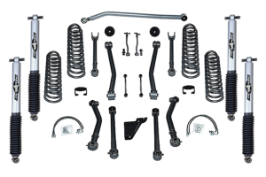 Rubicon Express SuperFlex 3.5in Short Arm Lift Kit, w/Mono Tube Shocks (Part Number: )