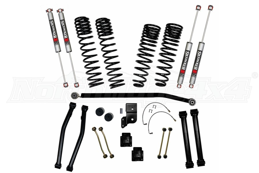 Skyjacker 4.5in Front/3in Rear Coil Spring Lift Kit - JT Rubicon