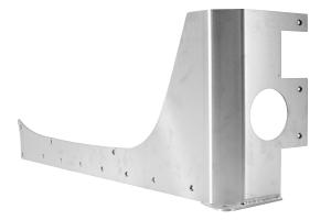 EVO Manufacturing Rockskin Corners Aluminum Rear - JK 4dr