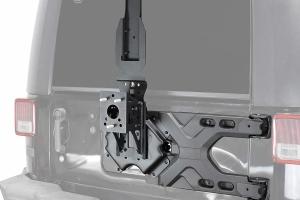 King 4WD Baumer Heavy Duty Rear Tire Carrier - JK
