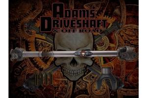 Adams Driveshaft Extreme Duty Series 1350 Solid Front Half Round CV Driveshaft   - JT Overland Only