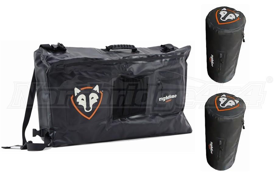 Rightline Gear Side Storage Bag and Roll Bar Bags (Part Number:100J74-BPKG)