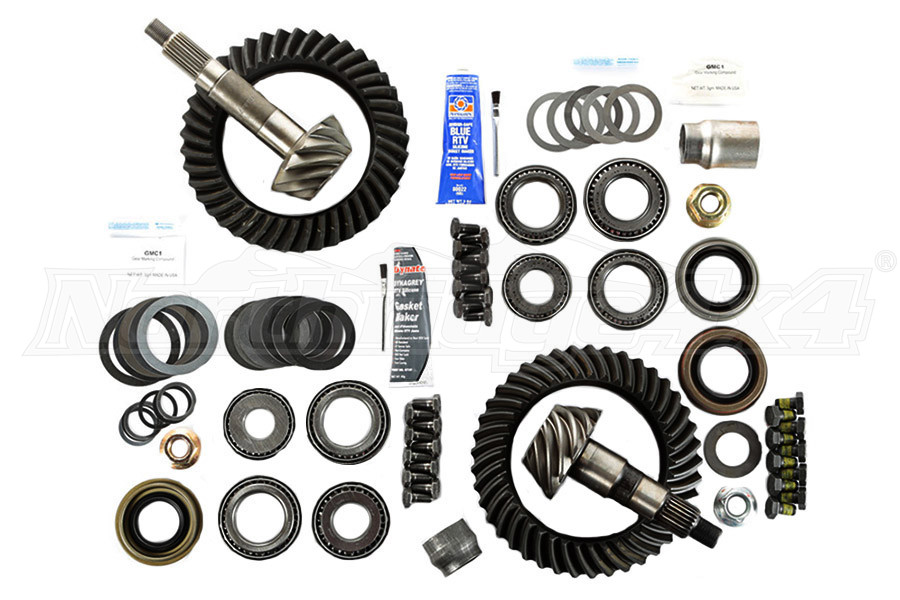 Rugged Ridge Ring/Pinion Kit, D44-D44, 5.13 Ratio - TJ/LJ