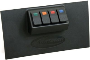 Daystar Lower Switch Pannel Black (Part Number: )