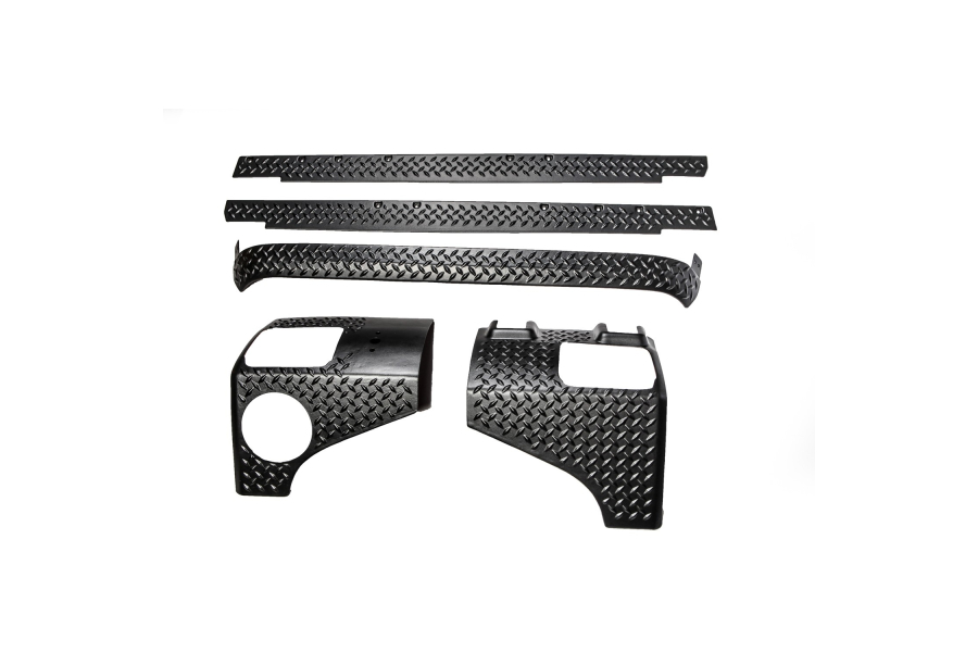Rugged Ridge 5-Piece Body Armor Guard Kit ( Part Number: 11651.51)