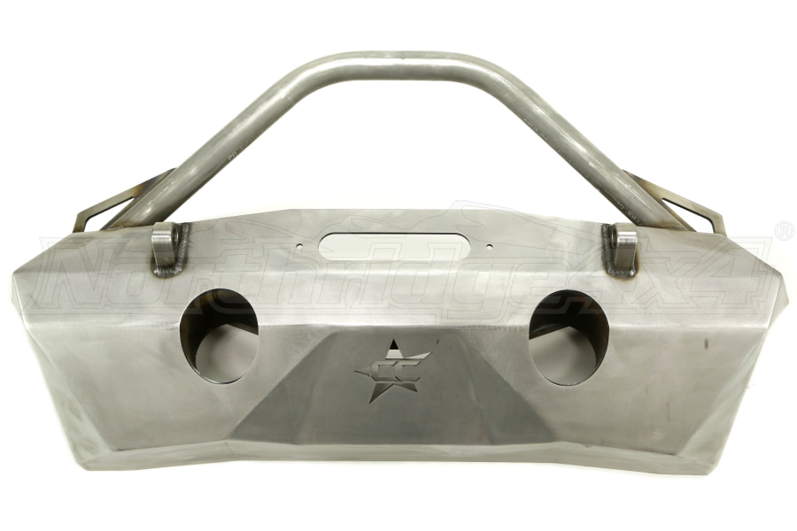 Crawler Conceptz Ultra Series Front Bumper w/Recessed Winch Mount, Bar and Tabs Bare (Part Number:US-ULW-001)