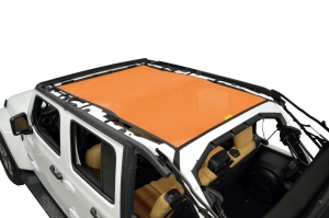 Dirty Dog 4x4 Sun Screen Safari length - Orange - JL 4DR