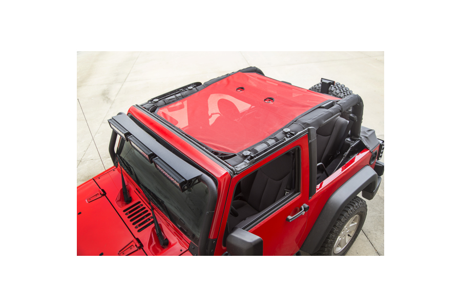 Rugged Ridge Eclipse Sun Shade Red (Part Number:13579.26)