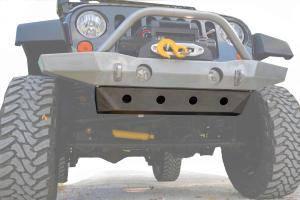 LOD Destroyer Front Bumper Skid Plate Bare Steel (Part Number: )