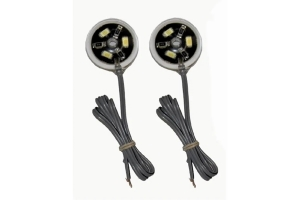 Off Road Only LiteSpot Rock Lights Chassis LEDs, Pair - Amber