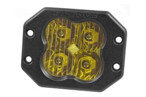 Diode Dynamics SS3 Pro Flush Mount LED Pod - Yellow Driving