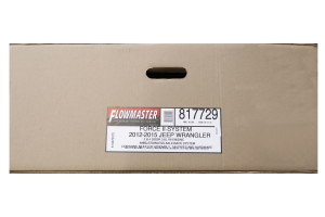 Flowmaster Force II Axle Back Twin Tip Exhaust ( Part Number: 817729)