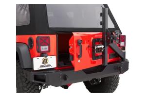 Bestop HighRock 4x4 Modular Rear Tire Carrier (Part Number: )