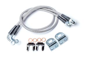 Teraflex Extended Brake Line Kit w/ Hardware Rear (Part Number: )