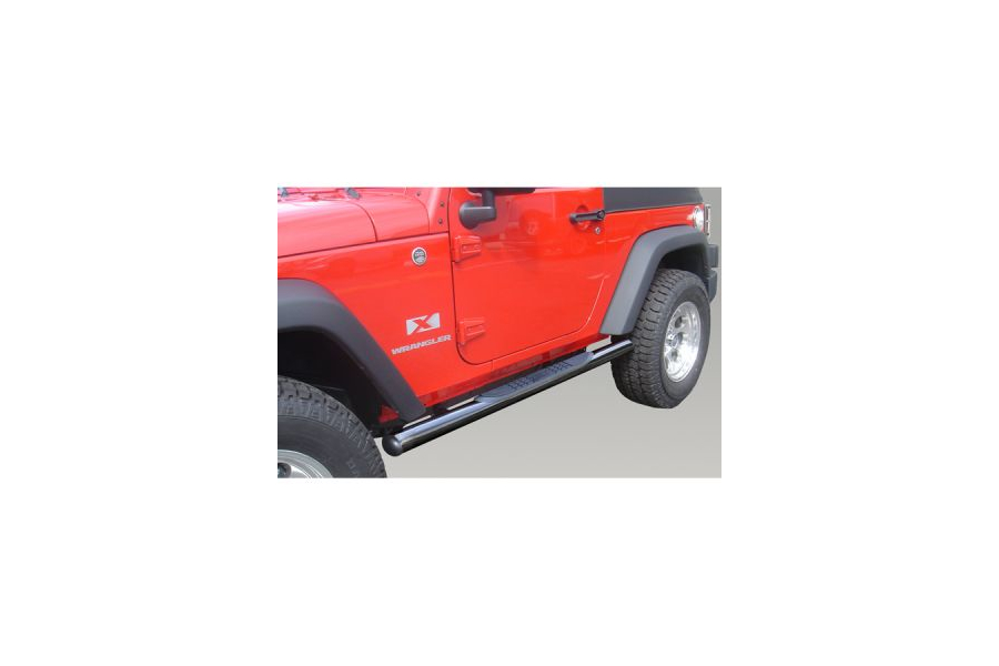 Rugged Ridge Side Steps Black (Part Number:11590.05)