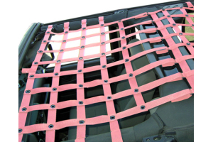 Dirty Dog 4x4 Front Netting Pink (Part Number: )